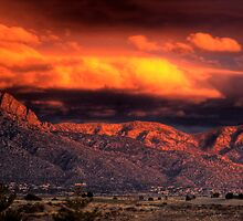 Desert Fire by John  De Bord Photography