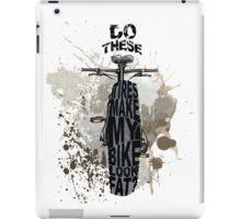 Fat bikers unite! iPad Case/Skin