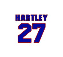 National baseball player Grover Hartley jersey 27 Photographic Print