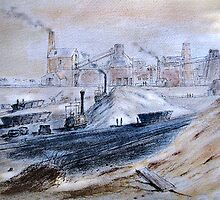 Hetton Colliery by Colin Cartwright