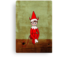 Mischief on The Mantle Canvas Print