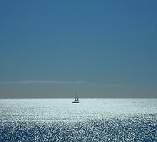 Solitude by Sea... by Bevsimages