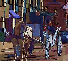 Carriage Ride...  by Brad Hutchings