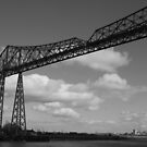 Transporter Bridge over the River Tees Middlesbrough, Cleveland, UK by richieh755