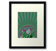 A Burst of Spring Framed Print