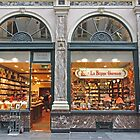 Shop, Galeries St Hubert, Brussels, Belgium by Margaret  Hyde