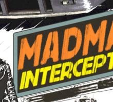 Mad Max V8 Interceptor Sticker