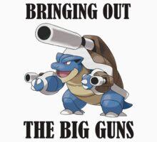 bringing out the big guns Kids Clothes