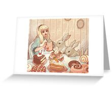 Easter Party Greeting Card