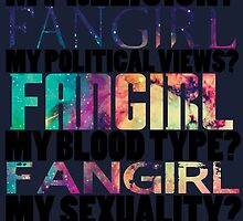 We are all Fangirls and Equal by Diddlys-Shop