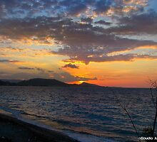 Rhodes Sunset by CJVisions