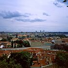 Prague from the Castle 1 by Priscilla Turner