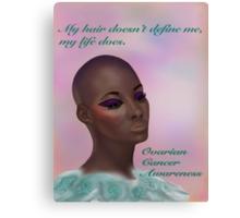 Ovarian Cancer Awareness Canvas Print