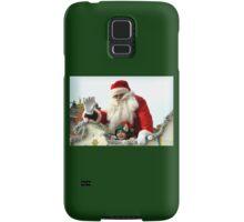 Say Hi to Santa and his little Elf......... Samsung Galaxy Case/Skin