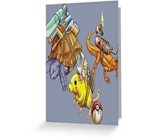 Realistic pokemon Greeting Card