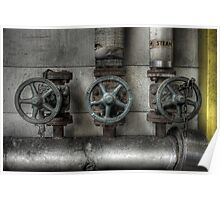 Steam Valves Poster