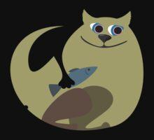 funny cat by Anastasiia Kucherenko