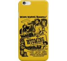 Wyoming 1947 Movie Poster iPhone Case/Skin