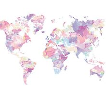 Continents by bubbleteanouis