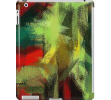 Colorful Painting Abstract Background #3 iPad Case/Skin