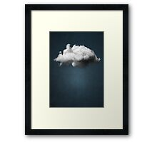 WAITING MAGRITTE Framed Print
