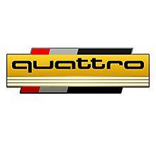 Audi Quattro Tribute Photographic Print
