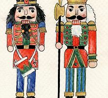 Nutcracker Soldiers by fay akers