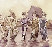 Bathing Beauties by fay akers
