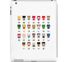 Superhero Alphabet iPad Case/Skin