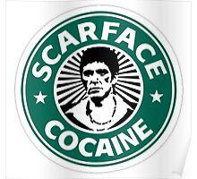 Starbucks cofee PARODY - Scarface Poster