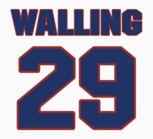 National baseball player Denny Walling jersey 29 by imsport