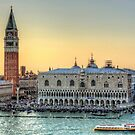 Early Evening Light in Piazza San Marco by Tom Gomez