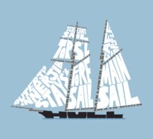 Tops'l Schooner Sail/Spar Plan Kids Clothes
