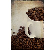 ~ Coffee Beans ~  Photographic Print