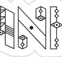 Banks Singer Sticker