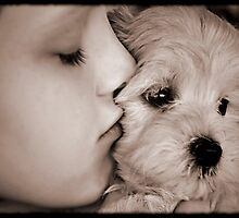 Puppy love... by Nicole Goggins