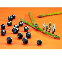 Blueberry Protesting Photographic Print