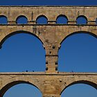 Pont du gard by windmill