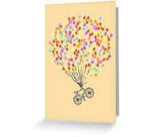 Bike & Balloons Greeting Card