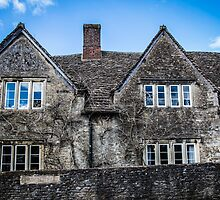 Old House in the Village of Lacock by Nicole Petegorsky