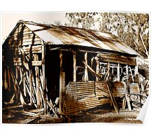 Aussie Outback Shed Poster