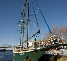 An old Iron Sailer at the Old Port by Moxy