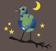 Global Bird For Earth Day by SaMack