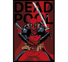 Deadpool - Pose - color Photographic Print