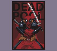 Deadpool - Pose - color Kids Clothes