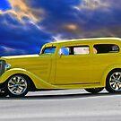 1935 Chevrolet Sedan 'Lemon Drop Kid' by DaveKoontz