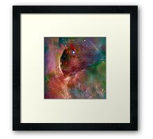 Cosmic Mushrooms 4 Framed Print
