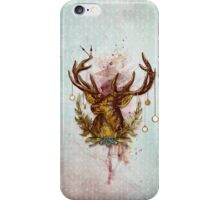 Oh deer, is that the time? iPhone Case/Skin