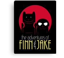 The Adventures of Finn and Jake shirt phone ipad case mug poster Canvas Print