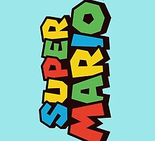 Super Mario Logo by AMPEE